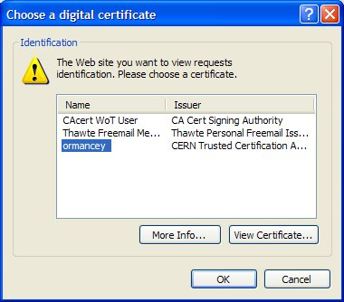 CERN Certification Authority